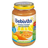Bebivita  Menü Gemüse-Eintopf mit Kartoffeln - Овощное рагу с картофелем от 8 месяц 220 г