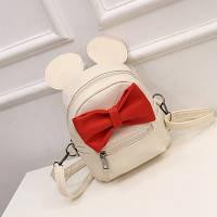 Рюкзак сумка Микки Маус белая