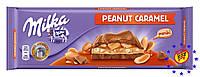 Milka Peanut Caramel молочный арахис+карамель