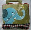 Плед-сумочка детский, зеленый