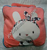 Плед-сумочка детский, персиковый, фото 1