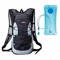 Рюкзак с гидратором черный, фото 1