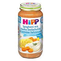 HiPP Спагетти филе минтая с Аляски в растительном сливочном соусе с 12-го месяца 250 г