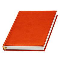 Ежедневник Принт датированный , кремовый блок,оранжевый