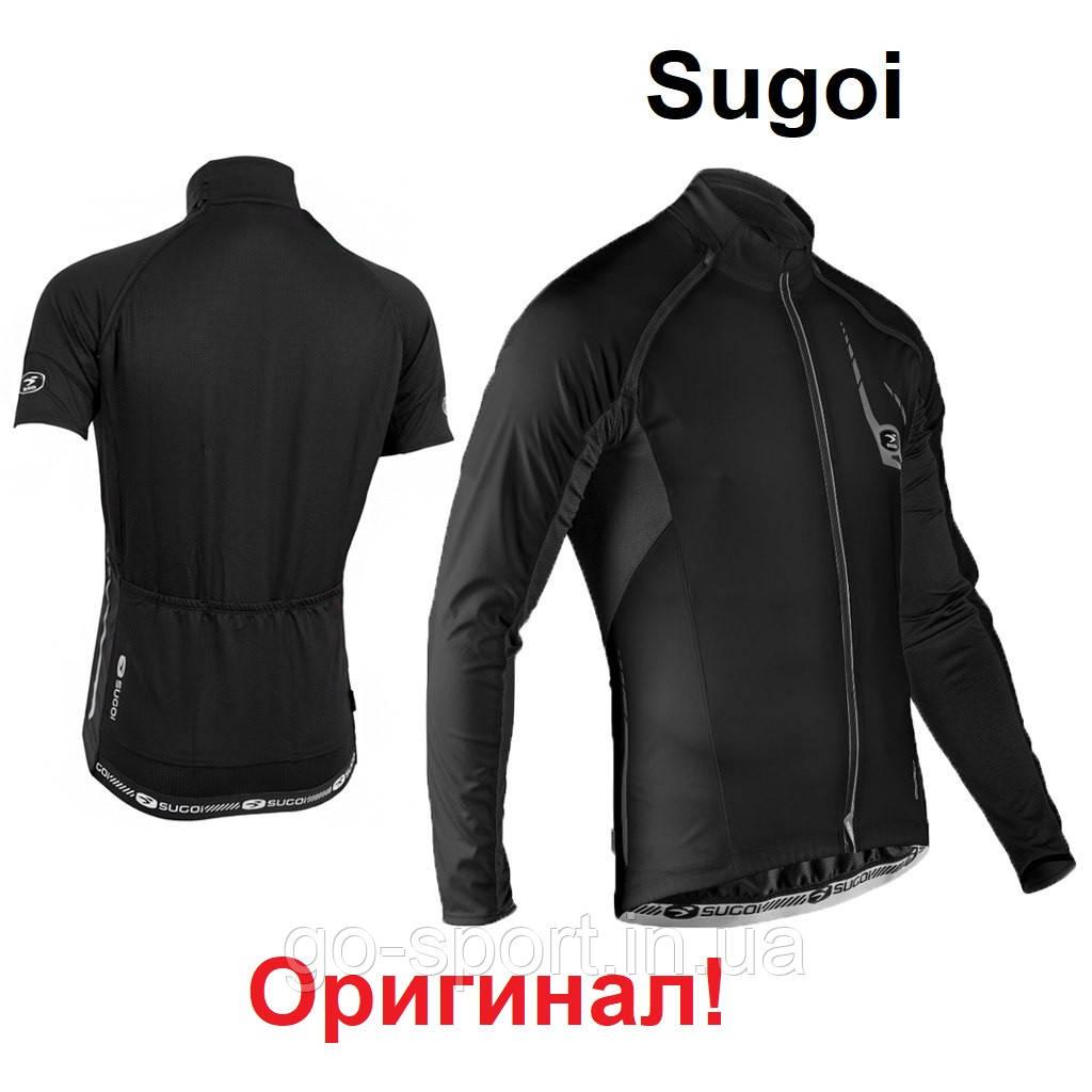 Куртка-Жилетка Sugoi RS 120, водоотталкивающая, ветрозащитная
