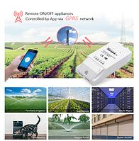 Sonoff G1 GPRS/GSM/WiFi беспроводное модуль реле таймер Smart умный дистанционный переключатель 3000W 16А