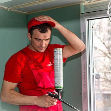 Замена резинового уплотнителя пластиковых окон от Sechil Турция