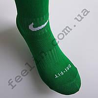 Гетры футбольные Nike зеленые