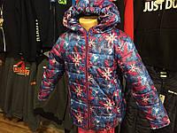 Куртка зимняя детская снежинка
