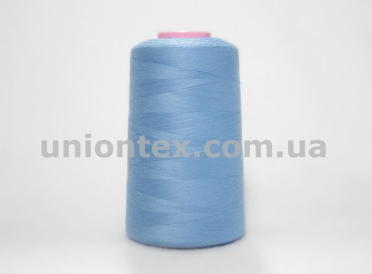 Нитка швейная 777 40/2 голубая