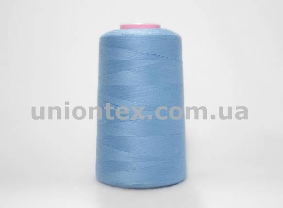 Нитка швейная 777 40/2 голубая, фото 2