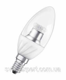 Лампа OSRAM SCLB40 6,5W/827 220-240VCS E14 прозрачная