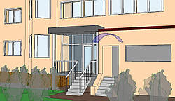 Проектирование элементов и частей зданий