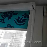 Тканевые жалюзи / ролеты на окна закрытого типа