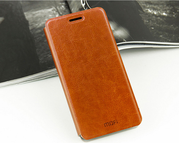 Чехол-книжка Xiaomi Redmi 4A MOFI Brown