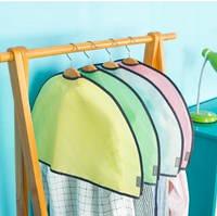 Чехол для одежды от пыли цветной