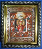 Образ Коренно-Курской иконы Знамение Пресвятой Богородицы