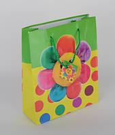 Пакет бумажный средний квадрат 21x25x8 DBV