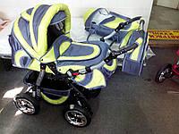 Коляска трансформер Флекс  с надувными колесами
