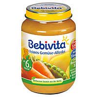 Bebivita  Feines Gemüse-Allerlei - Изысканное овощное пюре с 6 месяцев 190 г