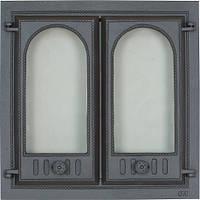Печная дверца со стеклом SVT 400