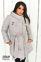 Женская куртка №98-039 БАТАЛ