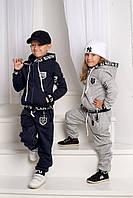 Детский теплый спортивный костюм №88-1022