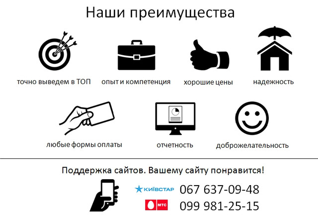 Поддержка сайта, Поддержка сайта Днепропетровск, Поддержка сайта Запорожье