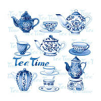 "Декупажная салфетка ""Tea time"", 33*33 см, 18 г/м2, Ambiente, 13307595"