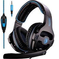 Игровые наушники Sades SA810 с микрофоном. Высокое качество. Практичный дизайн. Купить онлайн. Код: КДН2476