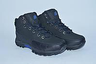 Подростковые кожаные зимние ботинки Bona