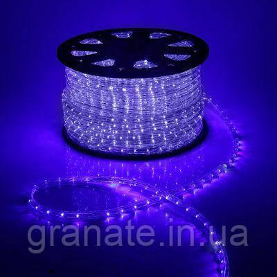 Светодиодная лента Дюралайт 60 LED\м, синий 100 м