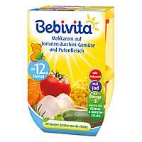 Bebivita  Duo Makkaroni auf Tomaten-Zucchini-Gemüse макароны, помидоры-кабачки и мясо индейки от 12 мес. 500 г