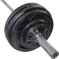 Штанга олімпійська Newt 103 кг. Гриф 1,8 м.
