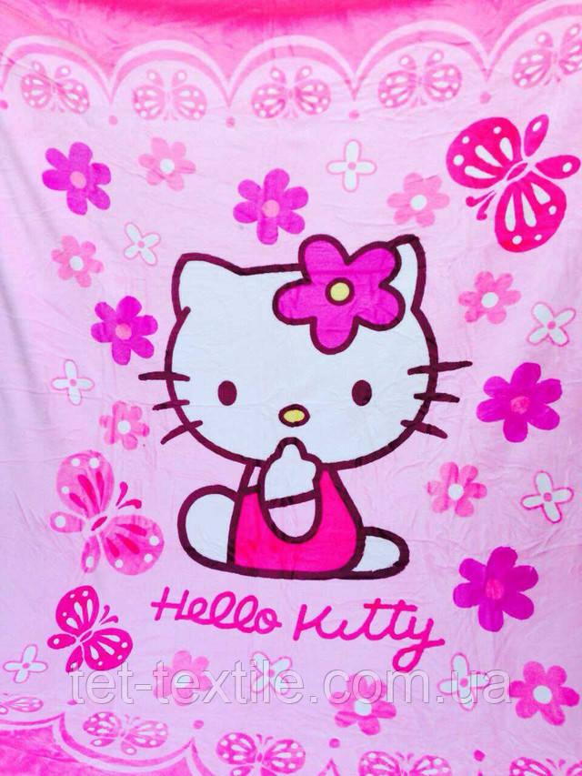 """Плед детский из микрофибры """"Hello Kitty"""" (160х210)"""