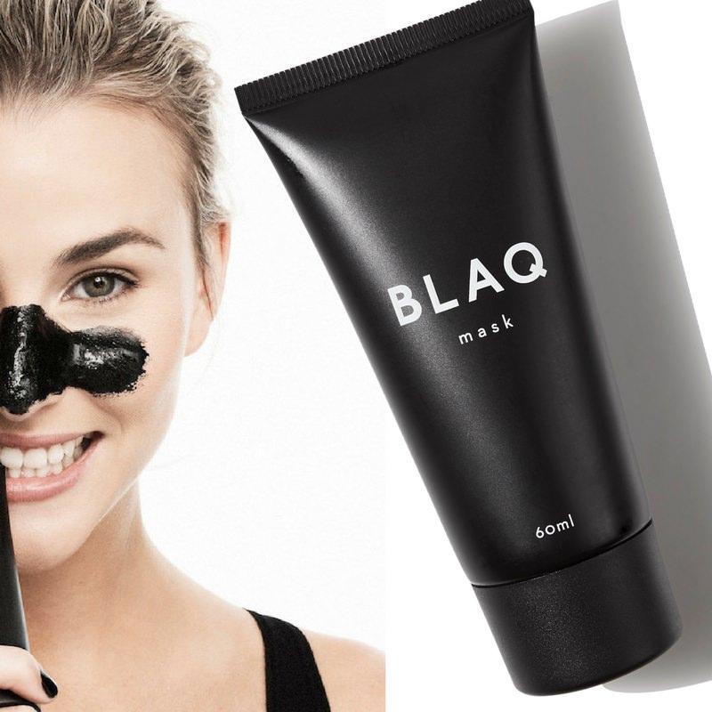 Черная маска от черных точек для лица BLAQ mask