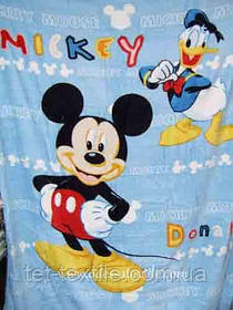 "Плед детский из микрофибры ""Mickey"" (160х210)"
