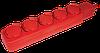 Удлинитель  У05В 5 мест с защитными крышками 2Р+PE/5метров  3х1мм2  16А/250В   ИЭК