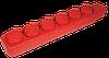 Удлинитель  У06В 6 мест с защитными крышками 2Р+PE/5метров  3х1мм2  16А/250В IEK