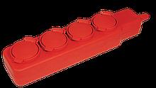 Удлинитель  У04В 4 места с защитными крышками IP44 2Р+PE/5метров  3х1мм2  16А/250В   IEK