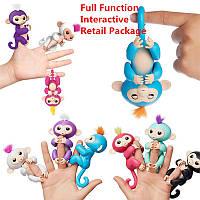 Интерактивные обезьянки Fingerlings на палец WowWee