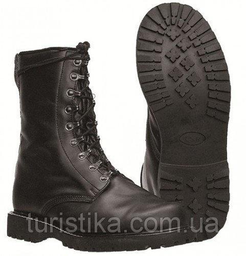 Кожаные ботинки, берцы немецкого десанта TSR MilTec 12812000 47