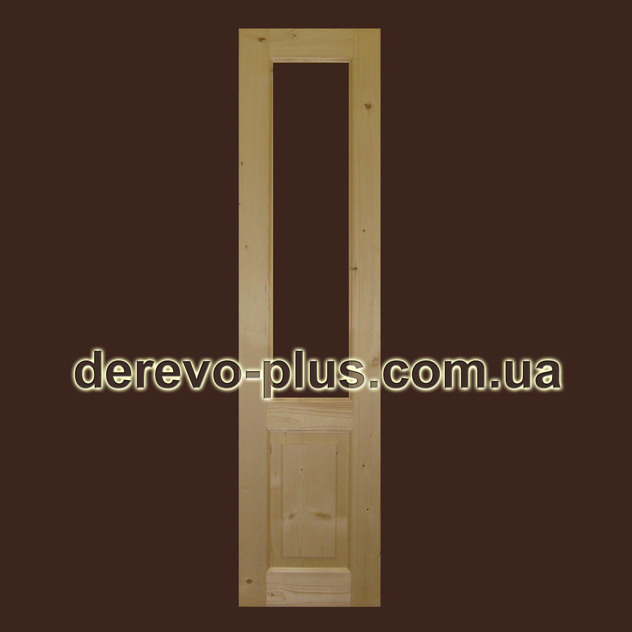 Двери из массива дерева 50см (скло) s_0150 - Дерево Плюс в Черновицкой области