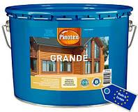 Пропитка для дерева Pinotex Grande для наружных работ, 10 л