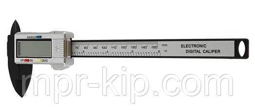 Цифровий штангенциркуль з вуглеволокна, довжина 150 мм, точність 0,1 мм