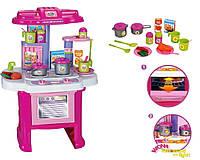 Кухня детская игровая 16641G. Световые и звуковые эффекты