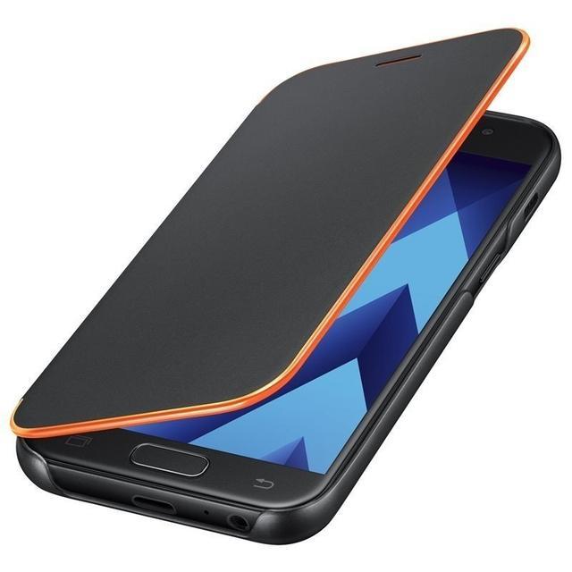 neon flip cover, a520f, для, сотового, телефона, смартфон, чехлы, sm a520f, силиконовый, накладка, флип, оригинальный