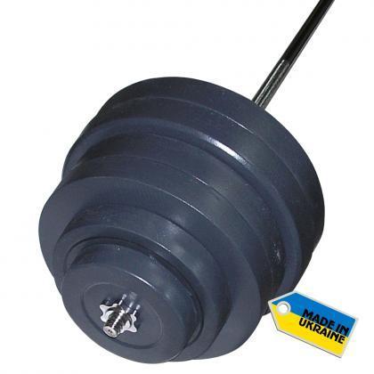 Штанга набірна Newt Rock 157 кг