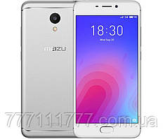 "Смартфон Meizu M6 2/16GB Silver (Global) (2SIM) 5,2"" 8/13Мп 3G 4G оригинал Гарантия! (ПРЕДОПЛАТА 100%)"