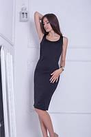 Класичне чорне плаття-міді Ciderage